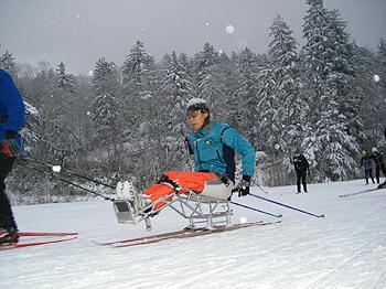 [写真]シットスキーの近藤選手
