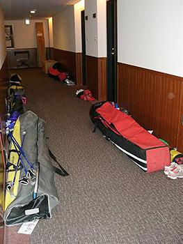 [写真]宿舎の廊下