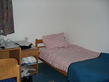 [写真]子供部屋のような宿舎です