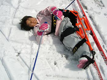 [画像]シットスキーのキッズキャンプ