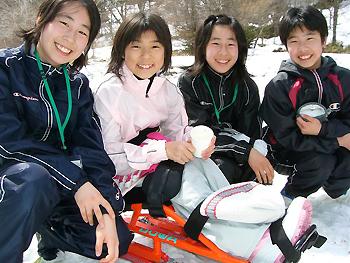 [画像]シットスキーに初挑戦