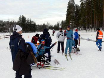 [写真]フィンランドでの一幕