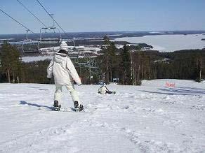 [写真]スノーボードの様子