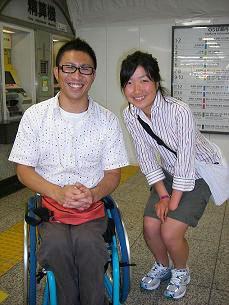 [写真]太田選手と久保選手