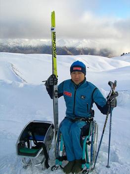 [写真]久保選手、冬のニュージーランドへ