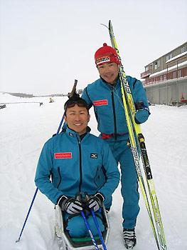 [写真]新田選手と久保選手