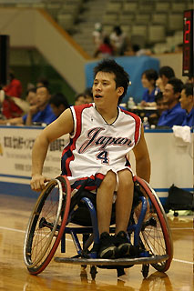 [写真]日本代表の佐藤選手