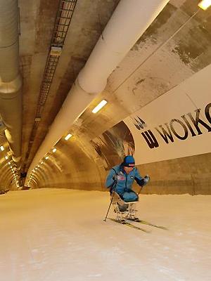[写真]スキートンネル