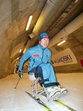 [写真]マックス滑走テスト