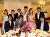 [写真]岡山での披露宴の様子