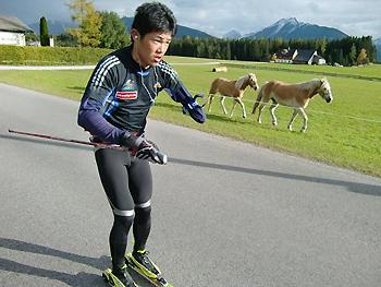 [写真]新田選手