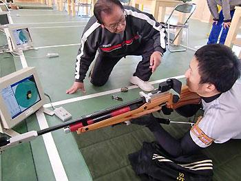 [写真]関川先生と久保選手