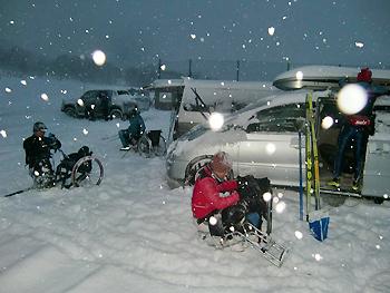 [写真]大雪の旭川