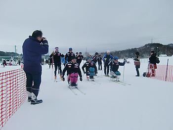 [写真]2009年の滑り初め