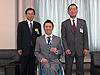 [写真]美幌町の町長に表敬訪問