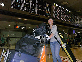 [写真]到着した太田渉子