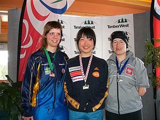 [写真]スプリント表彰式 太田選手