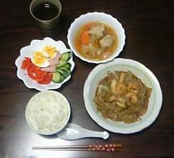 [写真]先日の晩御飯