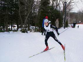 [写真]横山寿美子選手の力走
