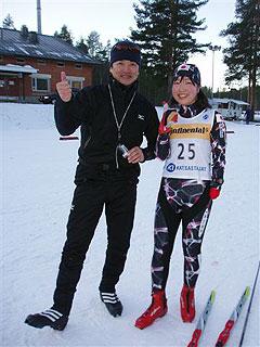 [写真]荒井秀樹と太田渉子