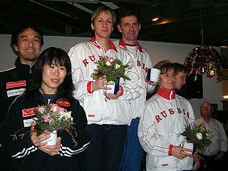 [写真]1月20日 スプリントレース 表彰式