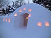 [写真]雪あかりのかまくら