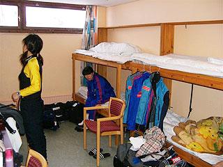 [写真]宿舎のベッド