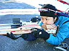 [写真]近藤さつき選手の射撃
