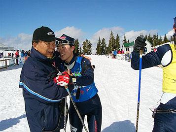 [写真]横山久雄先生と井口深雪