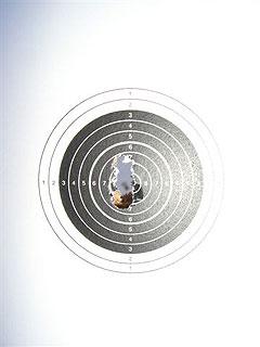 [写真]太田渉子の弾痕