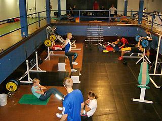 [写真]トレーニング場