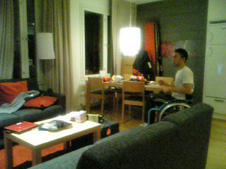 [写真]合宿の宿舎