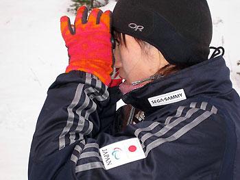 [写真]阿部コーチ