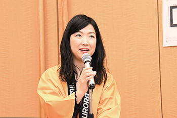 [写真]太田渉子さん