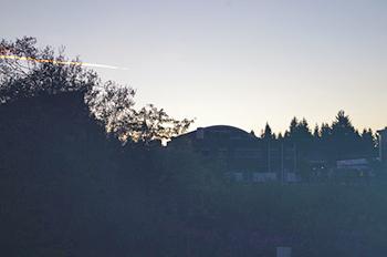 [写真]夜9時過ぎ周りの様子