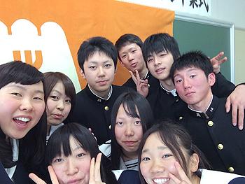 [写真]盛岡南高校スキー部