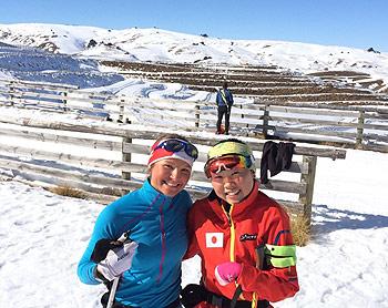 [写真]ブリトニーと阿部友里香