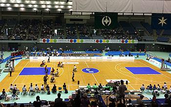 [写真]車いすバスケットボール アジアオセアニアカップ