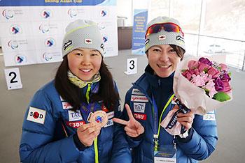 [写真]桂さんと阿部友里香