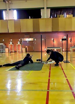 [写真]大和田コーチと阿部友里香