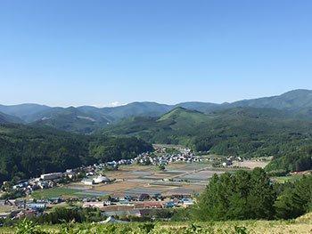[写真]スキー場からの眺め
