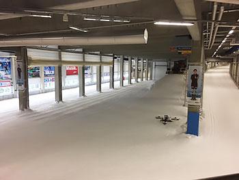 [写真]スキーホール