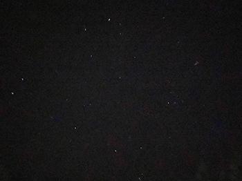 [写真]iPhoneで撮影した星空