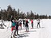 [写真]北海道旭岳で残雪練習
