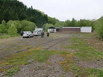 [写真]網走射撃場の広い敷地