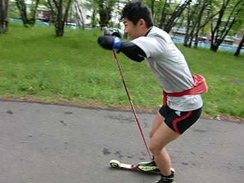 [写真]新田佳浩選手
