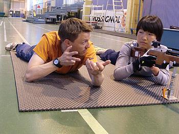 [写真]ビッレ氏と太田渉子選手