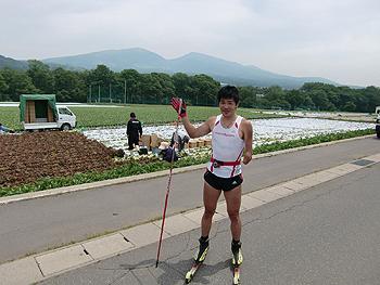 [写真]菅平での高原野菜の収穫