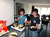 [写真]太田渉子と佐藤圭一