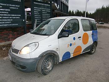 [写真]フィンランドの郵便屋さん